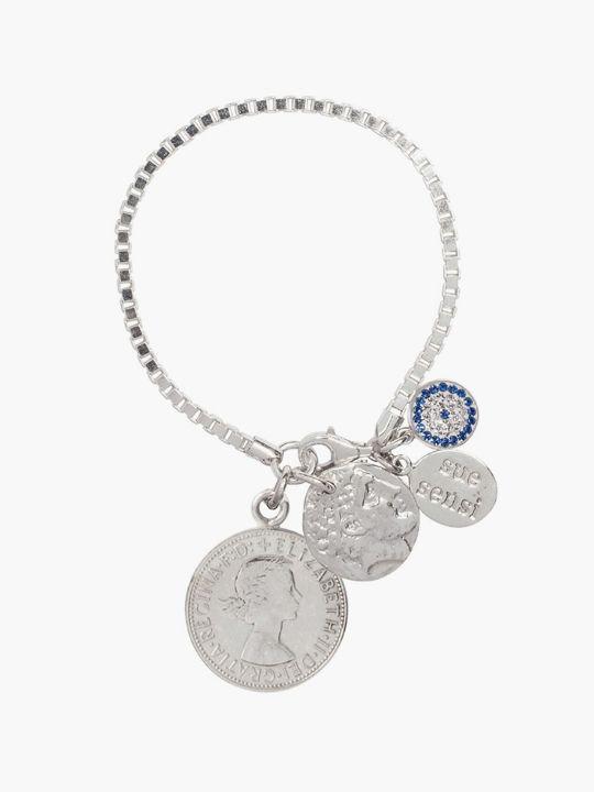 Sue Sensi 'Book of Love' bracelet.