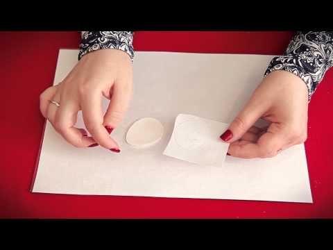 Как перенести изображение на полимерную глину. Мастер-класс. Пасхальный магнит с енотом. - YouTube