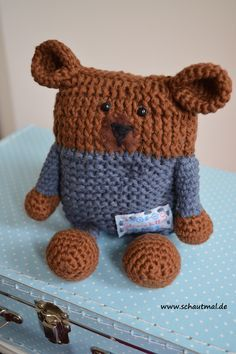 Gratis Häkelanleitung (Knooking) von www.schautmal.de Free crochet pattern