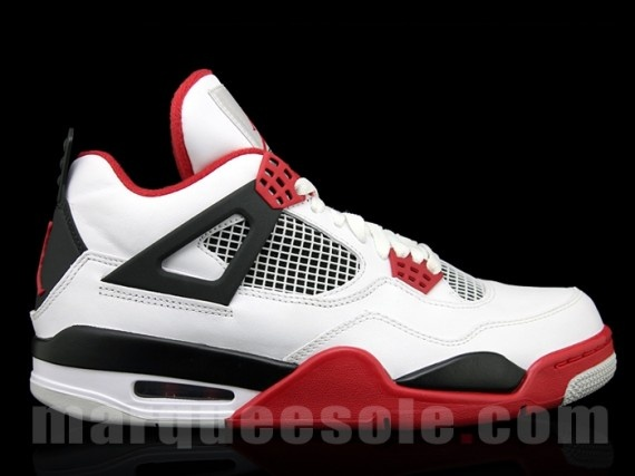 Air Jordan 4 'Fire Red' Sneaker Release Date