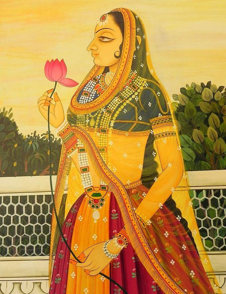 Rajputana- Art Treasure of India: -Rajasthan is the land of wonderful legends of romance and bravery. https://www.facebook.com/nikhaarfashions