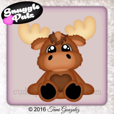 Snuggle Palz Moose