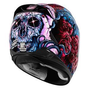 Icon Women's Airmada Sugar Helmet - Motorcycle Superstore