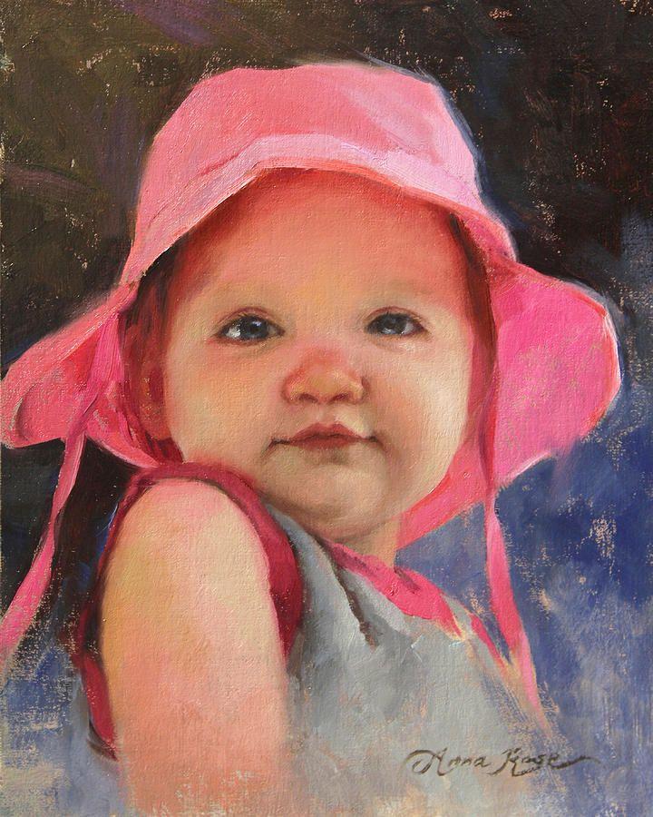 Розовая шляпа - Сесилия в живописи 11 месяцев Анна Роза Бейн