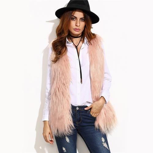 Women Sleeveless Elegant Casual Autumn  Fashion Waistcoat Open  Loose