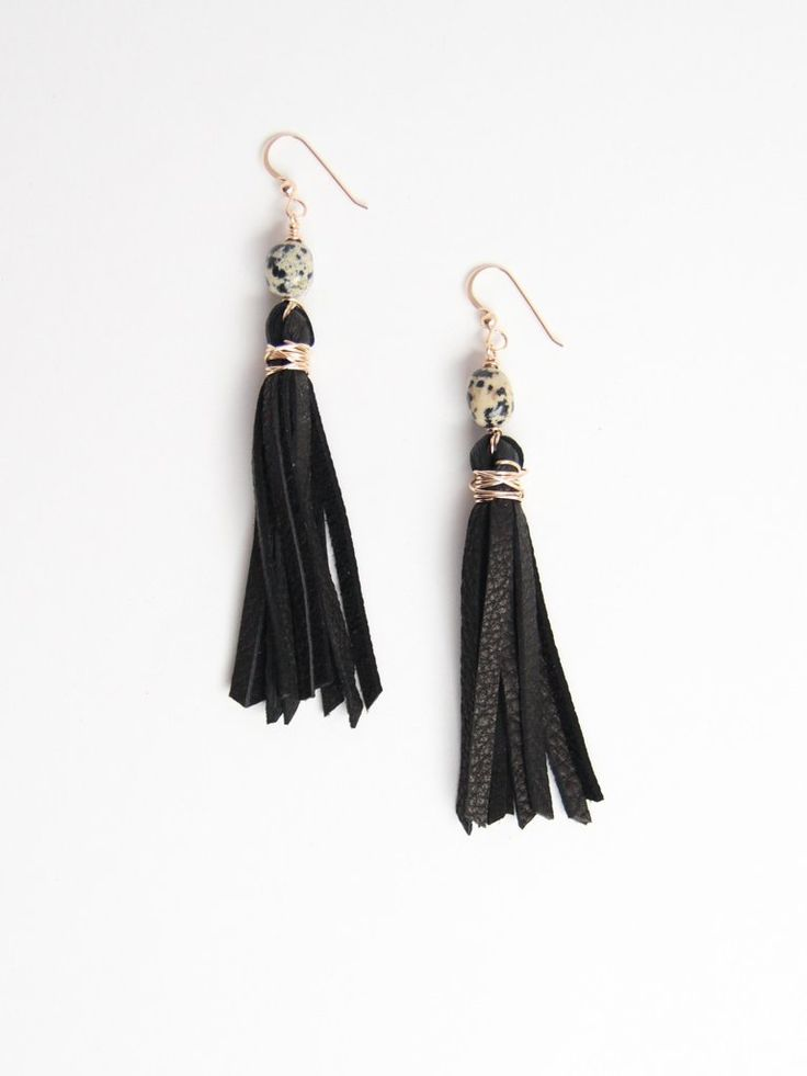 Raven & Riley Broadway Tassel Earring - Made in Denver!