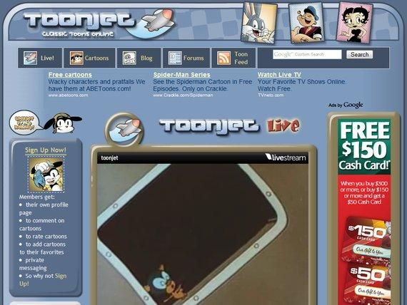 Toonjet classic cartoon tv shows