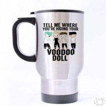 5 Seconds Of Summer VooDoo Travel Mug