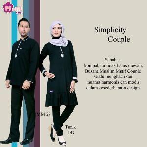 Baju Sarimbit Mutif Couple Series 06