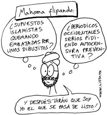 Caricaturas del profeta Mahoma.