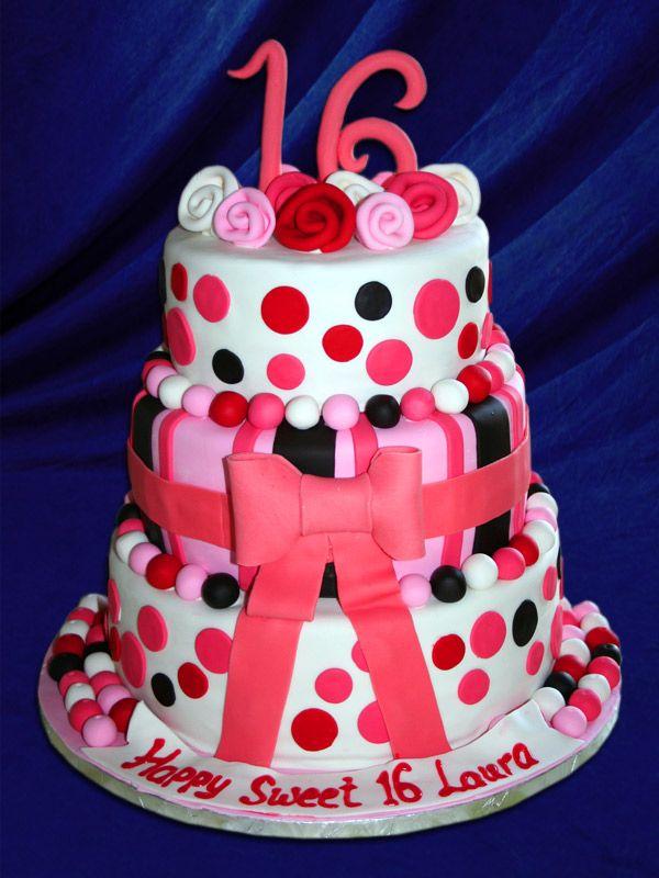 birthday cakes for sweet 16 Birthday Cakes Pastry ...