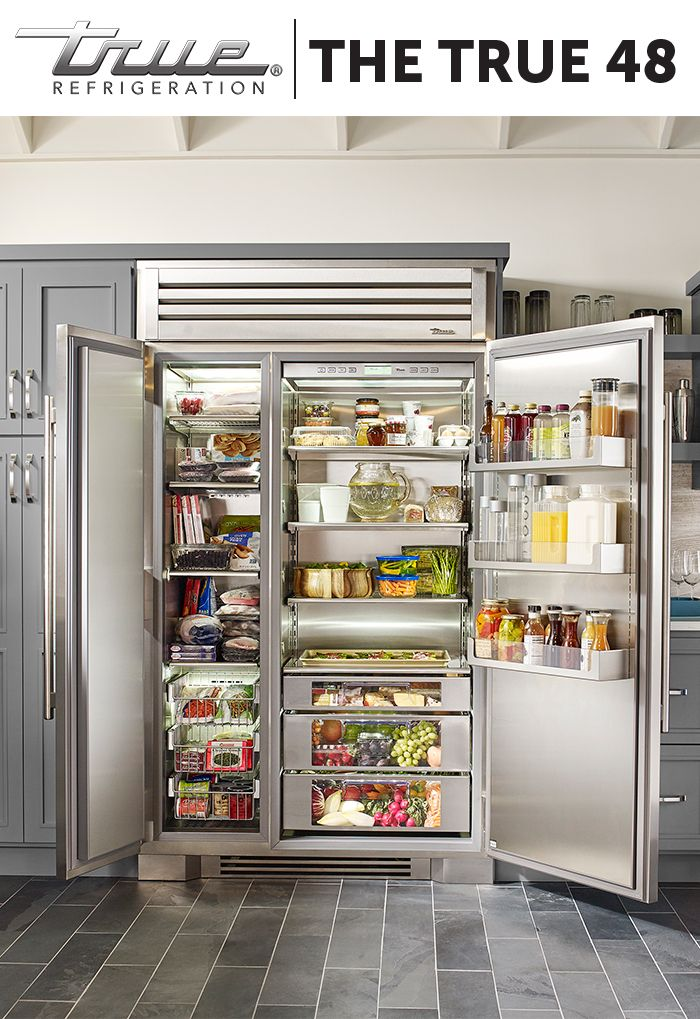 The Inside Of The TRUE 48 Is Where Our Obsession Over Quality And Design Is  Most · Kitchen AppliancesCubic ...