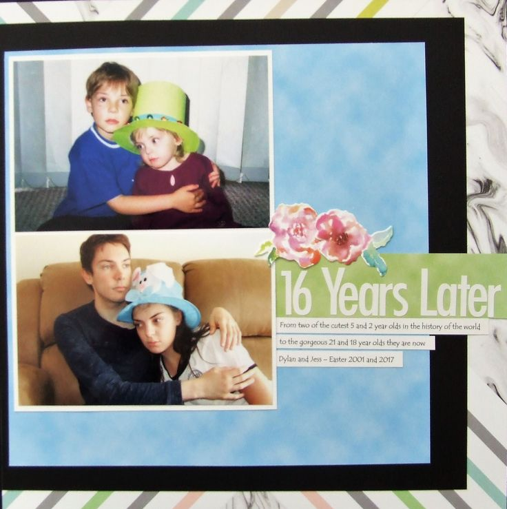 layout using papers from My Scrapbook Room May kit (coming soon)