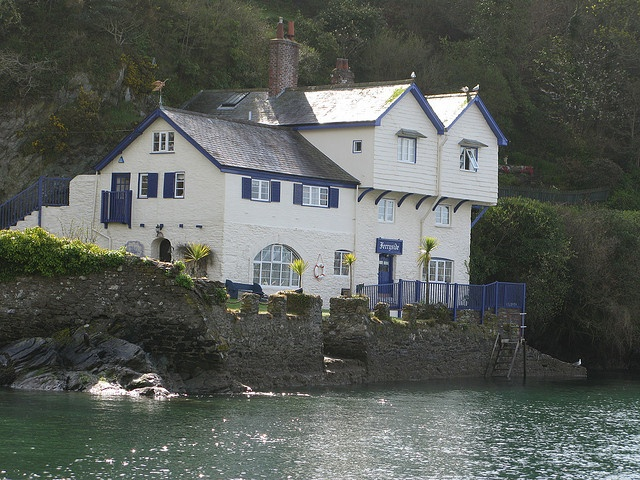 """◘•π•◘ Daphne du Maurier's home """"Ferryside"""" in Bodinnick, Fowey, Cornwall ◘•π•◘"""