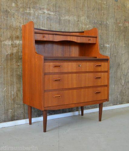 60er teak sekret r kommode danish design 60s teakwood for Danish design mobel 60er