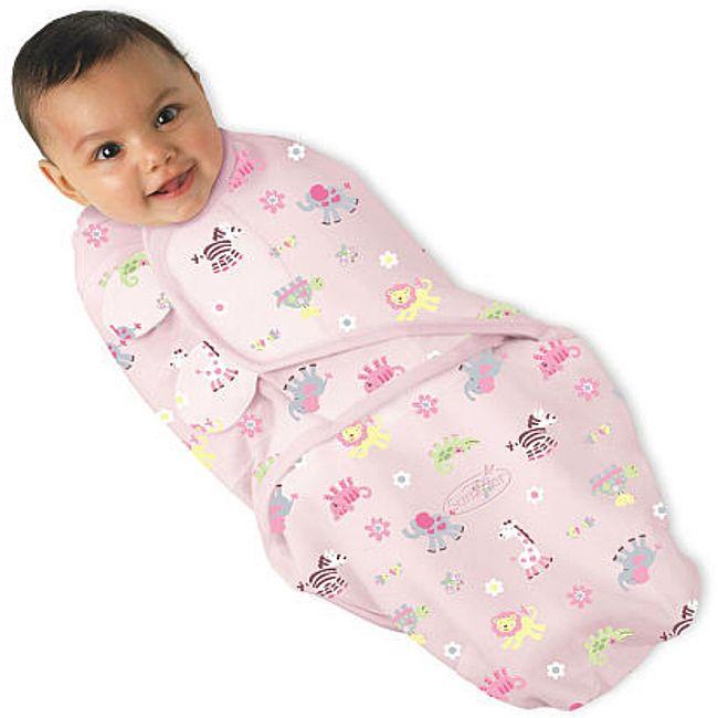 Summer Infant Chick Jungle Small SwaddleMe Blanket
