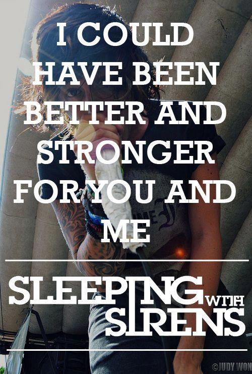 All My Heart Sleeping With Sirens Heartband Sirens Lyrics