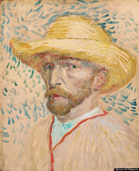 'Becoming Van Gogh' opens 21 October at Denver Art Museum featuring various works from our collection!Vincent Of Onofrio, Vangogh, Art Museums, Self Portraits, Vans Gogh Museums, Straws Hats, Vincent Vans Gogh, Vincent Van Gogh, Denver Art