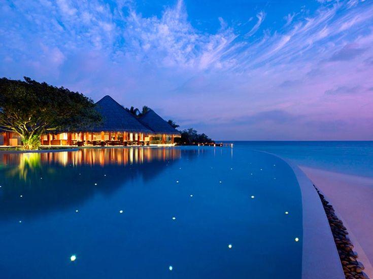Роскошный отель на Мальдивах Dusit Thani Maldives