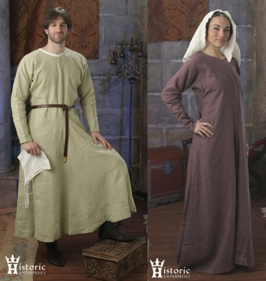10th-13th Century Gown