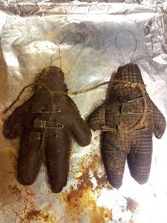 Primitive Gingerbread Ornament or doll -- A PATTERN AND A HOW TO!!!