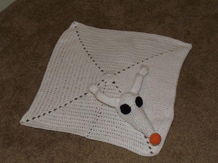 Nightmare Before Christmas Crochet Blanket.Zero From Nightmare Before Christmas Crochet We Know How