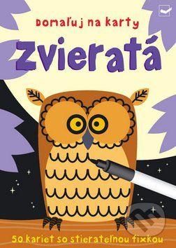 Martinus.sk > Knihy: Domaľuj na karty: Zvieratá