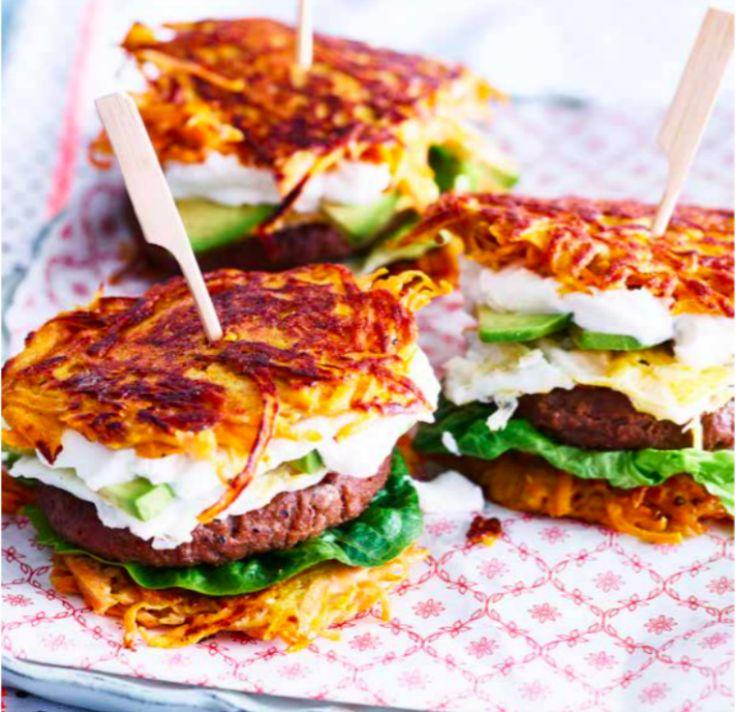 Röstibroodje hamburger