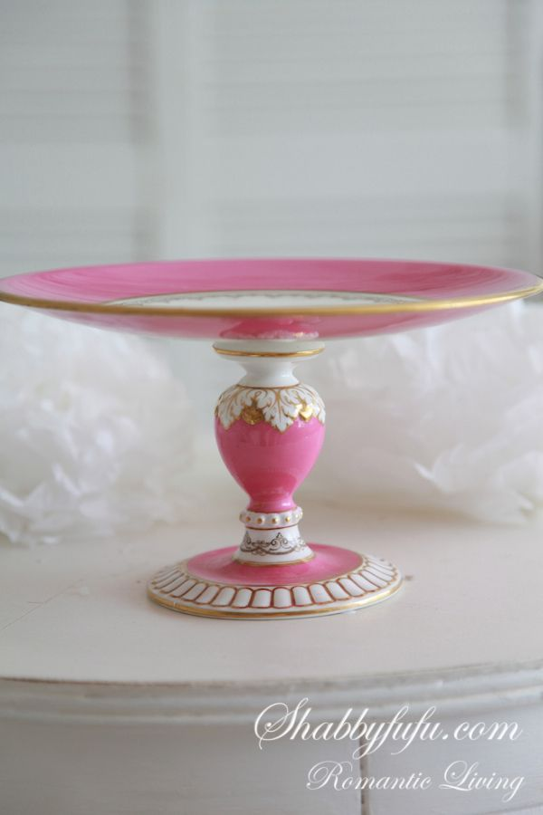35 best pretty pedestals cake stands images on pinterest
