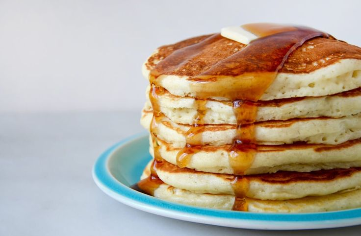 Skip the store-bought pancake mix in favor of this 15-minute recipe for light and fluffy homemade buttermilk pancakes!