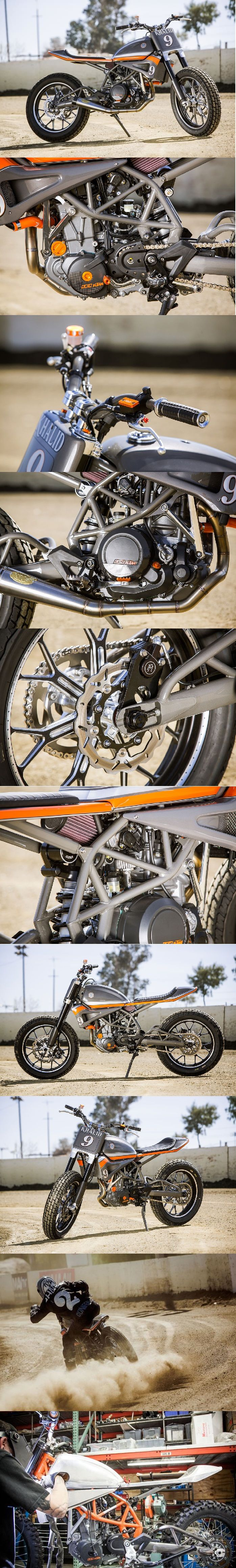 RSD KTM 690 Tracker (Click for more info)  #RSD #rolandsands #flattrack #knfilters