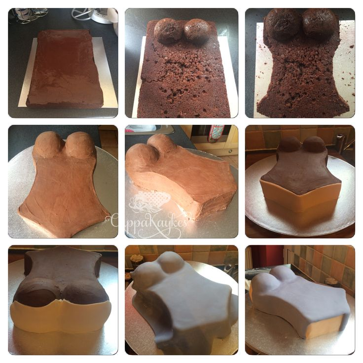 Corset Cake tutorial in pictures pictorial - part one