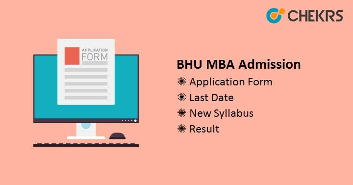 Bhu Mba Admission 2019 Application Form Releasing Today Mba Application Form Admissions