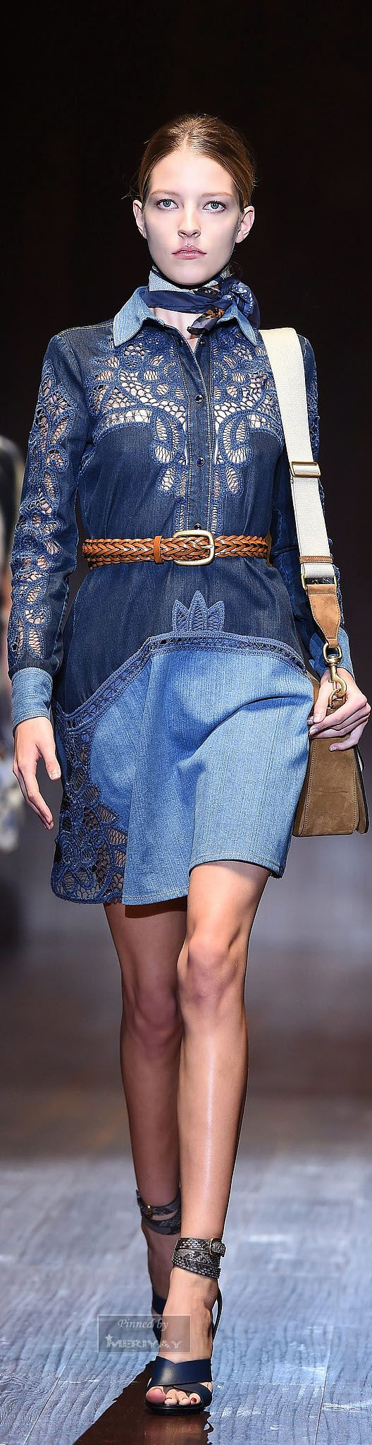 Gucci.Spring-summer 2015. Shop Shabby Shack Vintage Denim in Courtyard Antiques (formerly known as Front Porch Antiques Mall) in the Mason Antiques District. Open 7 Days, 10 A.M. – 6 P.M. (517) 676-6388 Vintage Denim for Women & Children.