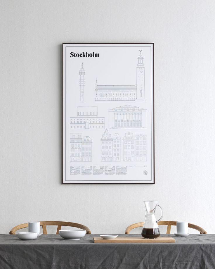 Stockholm Elevations by studio esinam