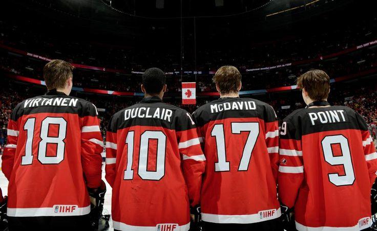 Virtanen, Duclair, McDavid & Point