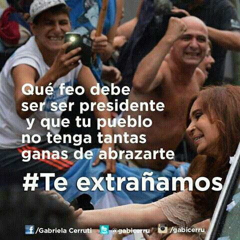 #TeExtrañamos