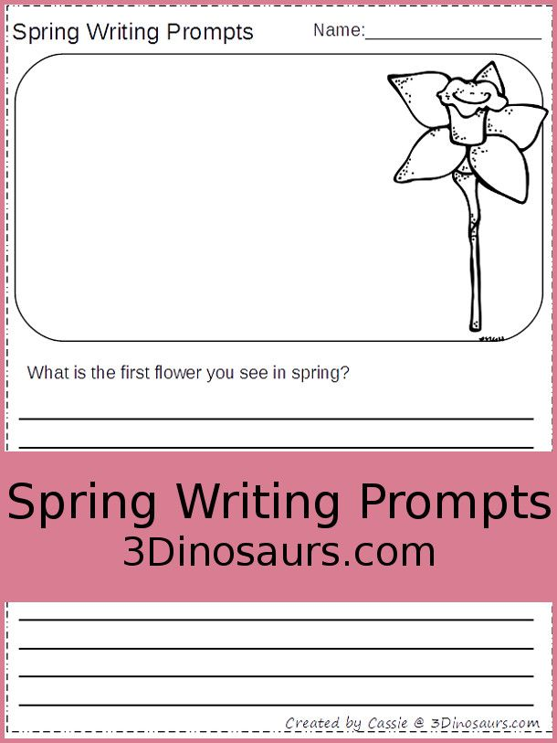 writing prompts for spring Course requirements include thoughtful and committed class participation,  regular writing assignments, and a final portfolio of fiction and poetry over the.