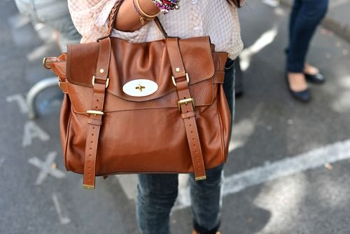 I've always had a thing for the Mulberry Alexa bag; mainly because it's such a classic purse and has both a top-handle and crossbody strap. More importantly, it will fit my DSLR camera. I'm just not entirely sold on the all the hardware. Not yet, at least.