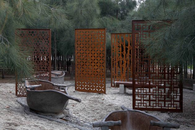 Kellock Trading | Screens - Corten Steel Laser Cut Outdoor Screens