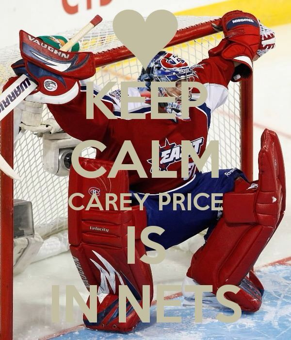 Carey Price. Funny how 2 years ago, people hated him. Montreal's fans are so fair weathered.