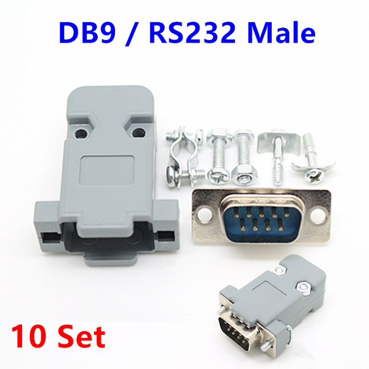 64d2e7de11215753134fb1ed46a04118 10set rs232 serial port connector db9 male socket plug connector 9  at panicattacktreatment.co