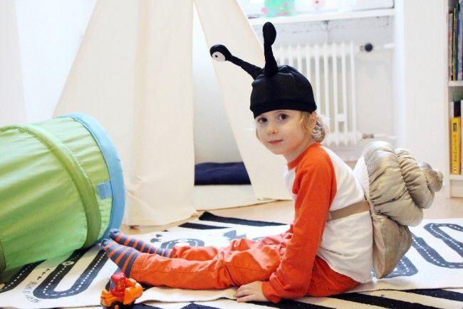 Ikea Hack: DIY Snail Costume – The Bear & The Fox