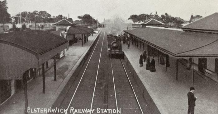 Elsternwick Railway Station Source: La Trobe Picture Collection, State Library of Victoria