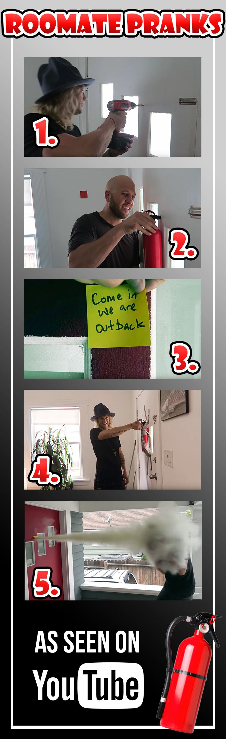 6 roommate pranks this prank idea is one of the most epic practical jokes to