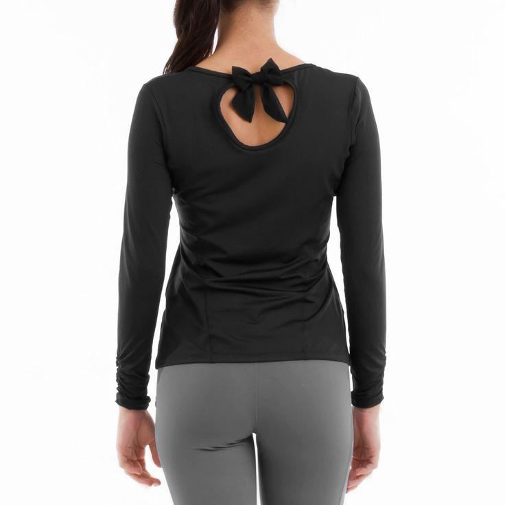 Remera Belén vista de espalda. Para más detalles: http://www.tiendascrubs.com.ar/remeras-manga-larga/remera-belen/