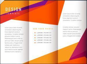 free tri fold brochure design