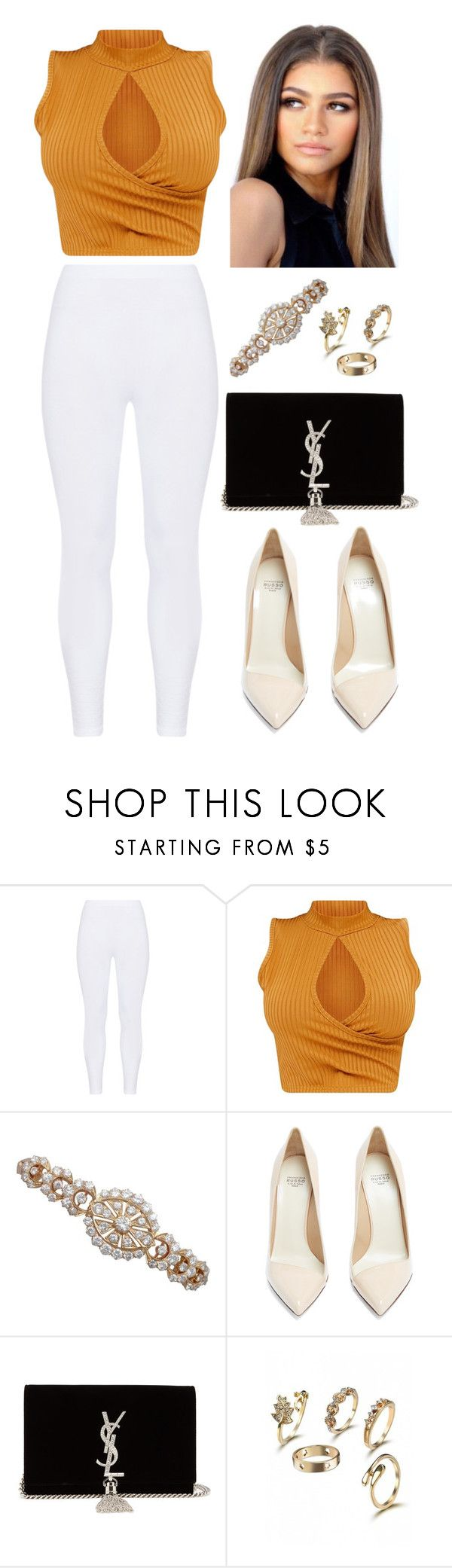 """""""696"""" by francescas22 on Polyvore featuring Gozzip, Francesco Russo and Yves Saint Laurent"""