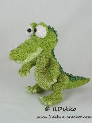 Conrad the Crocodile – Amigurumi Crochet Pattern |