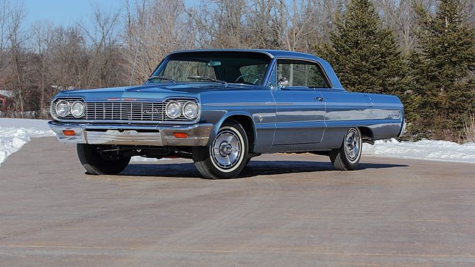 1964 Chevrolet Impala SS Hardtop 409/425 HP, 4-Speed presented as lot R111.